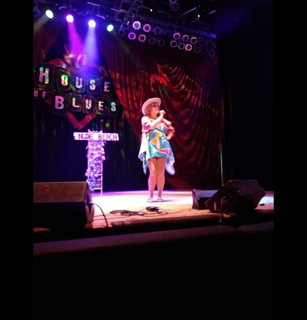 Meredith Sparkles at House of Blues